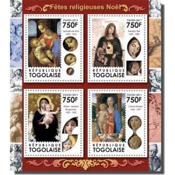 Weihnachten - Briefmarken-Block, Togo
