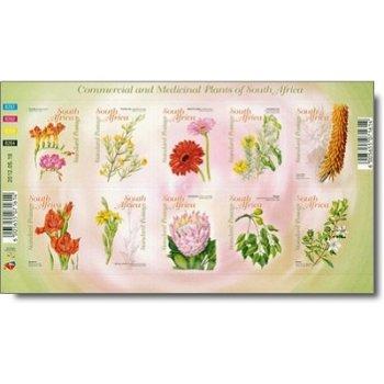 Faszinierende Heilkräuter - Briefmarken-Kleinbogen postfrisch, Südafrika