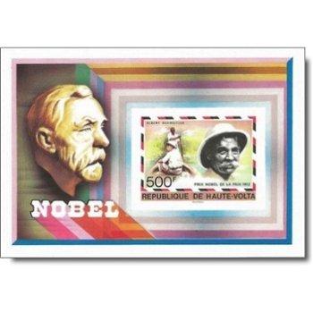 Nobelpreisträger – Briefmarken-Block postfrisch, ungezähnt, Katalog-Nr. 689, Block 47, Obervolta