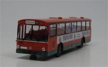 Modell-Bus:Mercedes-Benz O 307 Überland-Linienbus - Schneider Weisse -(Brekina, 1:87)