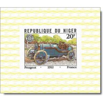 """75 Jahre """"Großer Preis von Frankreich"""" - 5 Luxusblocks postfrisch, Katalog-Nr. 773-777, Ni"""