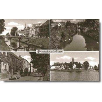 """2254 Friedrichstadt - Postkarte """"Stadtansicht"""""""