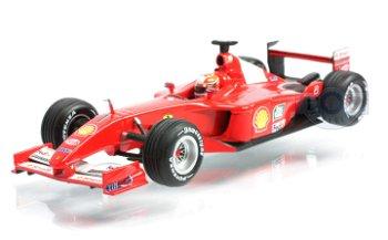 Modellauto:Ferrari F 2001 - Michael Schumacher -(Mattel, 1:43)