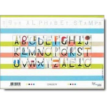 Alphabet - Briefmarken-Kleinbogen, postfrisch, Hongkong