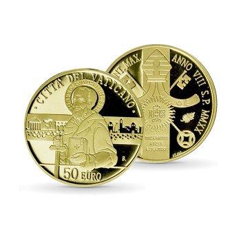 Die Apostelgeschichte: Paulus, der Zeuge - 50 Euro Goldmünze, Vatikan