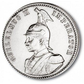 1/2 Rupie Deutsch-Ostafrika, Katalog-Nr. 712, Deutsche Kolonien