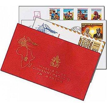 Papst Johannes Paul II. - 7 Reisebelege, Afrika