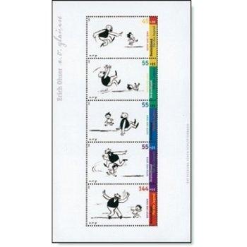 Vater-und-Sohn-Geschichten Block 63, postfrisch, Katalog-Nr. 2349-2353, Bundesrepublik