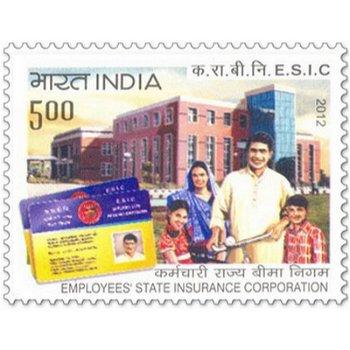 Angestellte der staatlichen Versicherungsgesellschaft - Briefmarke postfrisch, Indien