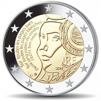 225. Jahrestag Föderationsfest 1790, 2 Euro Münze 2015, Frankreich