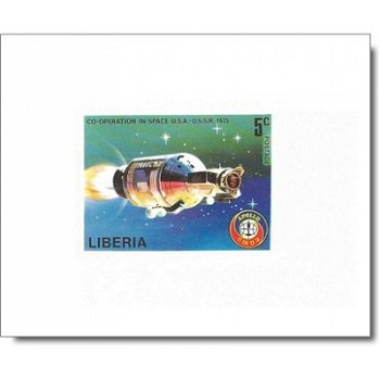 Amerikanisch-sowjetisches Raumfahrtunternehmen Apollo-Sojus - 6 Luxusblocks postfrisch, Katalog-Nr.