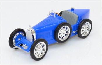 Modellauto:Bugatti T35B von 1924, blau(WhiteBox, 1:43)