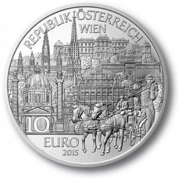 Serie Bundesländer - Wien, 10 Euro Silbermünze im Etui, Österreich
