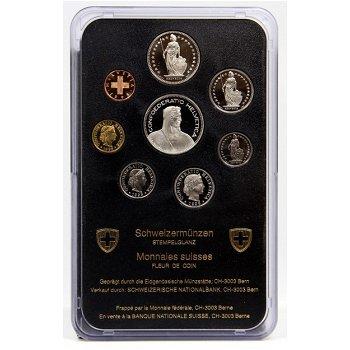 Kursmünzensatz 1995 - Schweiz, Stempelglanz