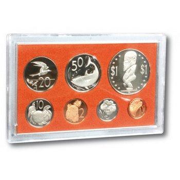Kursmünzensatz 1973 - Cook Inseln