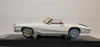 Modellauto:Stutz Blackhawk Cabrio von 1971, weiß(Premium X, 1:43)