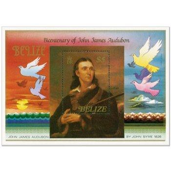 200 Jahr Jubiläum - Briefmarken-Block postfrisch, Belize