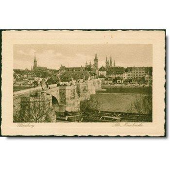 "8700 Würzburg - Postkarte ""Marienbrücke"""