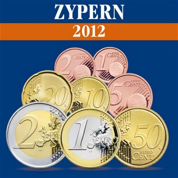 Zypern – Kursmünzensatz 2012