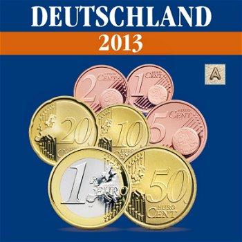 Deutschland - Kursmünzensatz 2013, Prägezeichen A