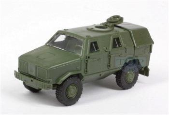 Modell-LKW:Gepanzertes Allschutz-Transport-Fahrzeug (ATF) - Dingo -(Herpa, 1:87)