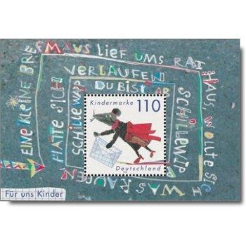 Für uns Kinder 1999, Block 51 postfrisch, Katalog-Nr. 2072, Bundesrepublik