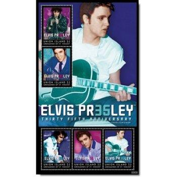 35. Todestag von Elvis Presley - Briefmarken-Block postfrisch, St. Vincent