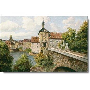 """8600 Bamberg - Posktarte """"Rathaus"""""""