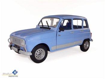 Modellauto:Renault 4 GTL - Clan - von 1992, hellblau(Solido, 1:18)