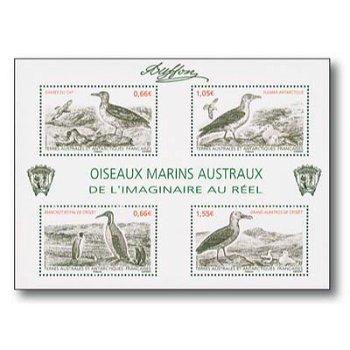 Vögel - Briefmarken-Block postfrisch, TAAF