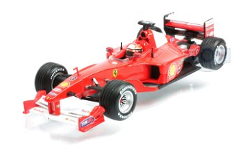 Ferrari F1-2000 - Michael Schumacher -(Mattel, 1:43)