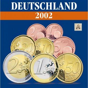 Deutschland - Kursmünzensatz 2002, Prägezeichen A