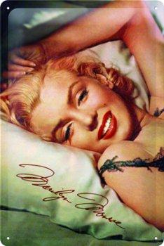 Blechschild:- Marilyn Monroe -(Nostalgic Art, 20 x 30 cm)
