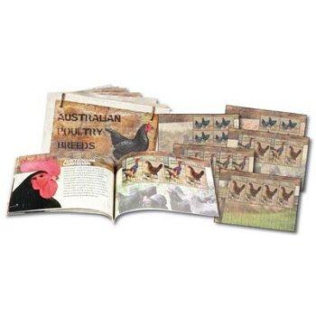Australische Geflügelzucht - Luxus-Briefmarkenheftchen postfrisch, Australien