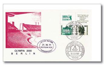 Olympia 2000 Berlin - Sonderumschlag, Deutschland