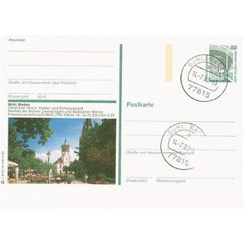 7580 Bühl,Baden - Bildpostkarte