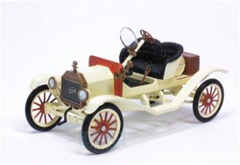 Modellauto:Ford Model T Speedster von 1915, hellgelb(1:43)