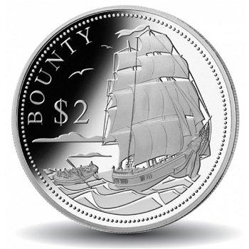 Geschichte der Seefahrt: Die Bounty, Silbermünze, Salomon Inseln