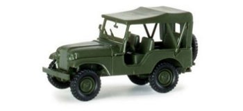 Modellauto:Willys Jeep M 38 A1(Herpa, 1:87)