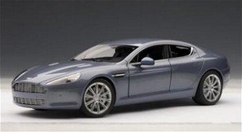 Modellauto:Aston Martin Rapide von 2010, blau(AUTOart, 1:18)
