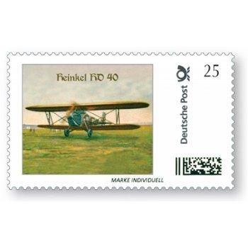 Flugzeug Heinkel HD 40 - Marke Individuell postfrisch