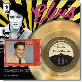 Elvis Presley: Kissin Cousins - Briefmarken-Block postfrisch, St. Vincent/Grenadinen