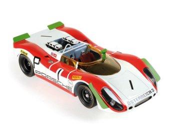 Modellauto:Porsche 908/02 Spyder mit # 1- 1000 km Nürburgring 1969 -(Minichamps, 1:18)