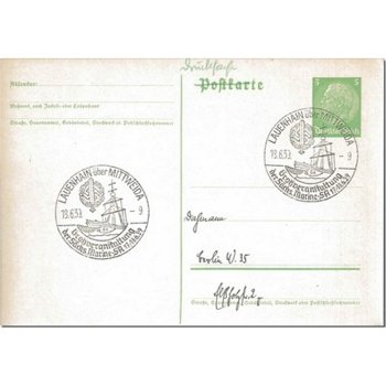 9251 Lauenhain - postal stationery & quot; major event & quot;