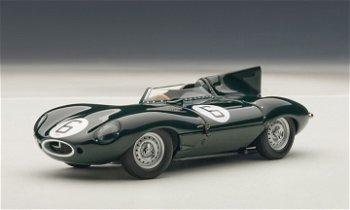 Modellauto:Jaguar D-Type mit der # 6- Le Mans 1955 -(AUTOart, 1:43)