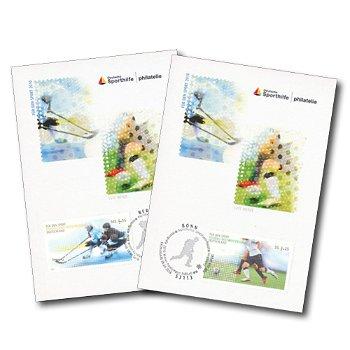 Für den Sport 2010 - 2 Maximumkarten, Kat.-Nr. 2788-2789, Deutschland