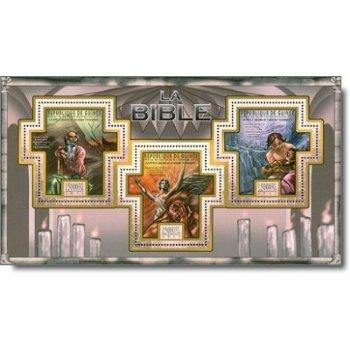 Bibel, Das Neue Testament - Block 1 postfrisch, Guinea