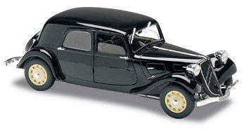 Modellauto:Citroen Traction 11 B von 1938, schwarz(Solido,1:18)