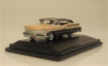 Modellauto:Mercury Turnpike, schwarz-hellrosa(Oxford, 1:87)