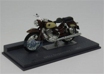 Modell-Motorrad:NSU Supermax von 1961(IXO, 1:24)